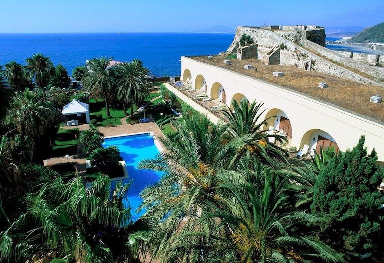 Parador de Ceuta Hotel La Muralla, סאוטה, בריכה