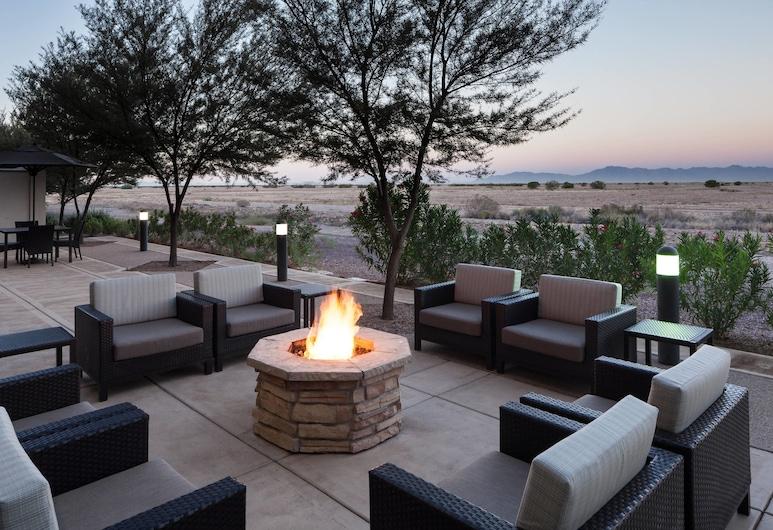 Fairfield Inn & Suites Phoenix Chandler / Fashion Center, Chandler, Terase/iekšējais pagalms
