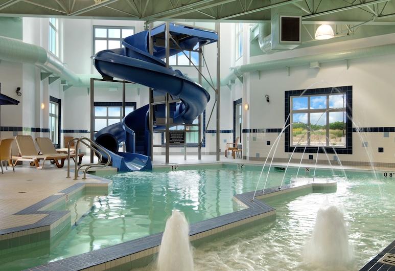 溫賴特溫德姆華美達飯店, 洛福斯溫萊特, 滑水道