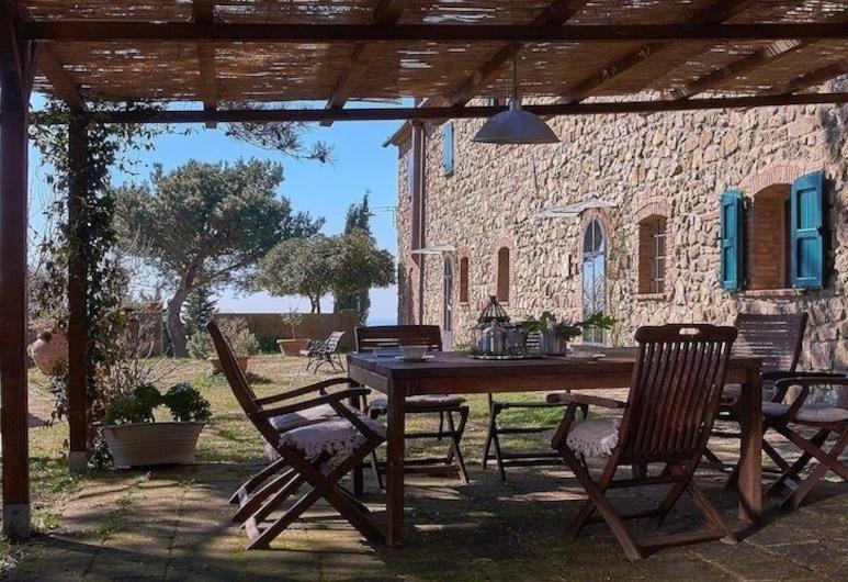 Agriturismo Alberelli, Rosignano Marittimo, Apartament, Wiele łóżek, widok na wzgórze, Taras/patio