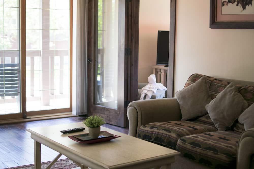 蜜月套房, 1 張特大雙人床, 按摩浴缸 - 客房