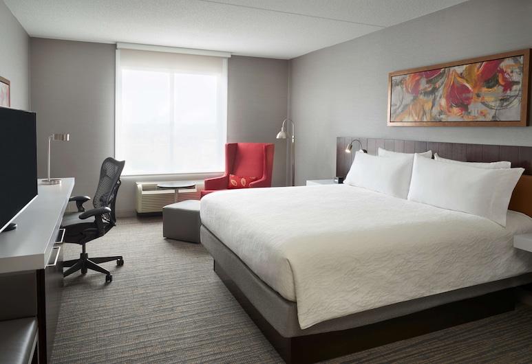 Hilton Garden Inn Toronto Airport West/Mississauga, Mississauga, Rom, 1 kingsize-seng, handikappvennlig, Gjesterom