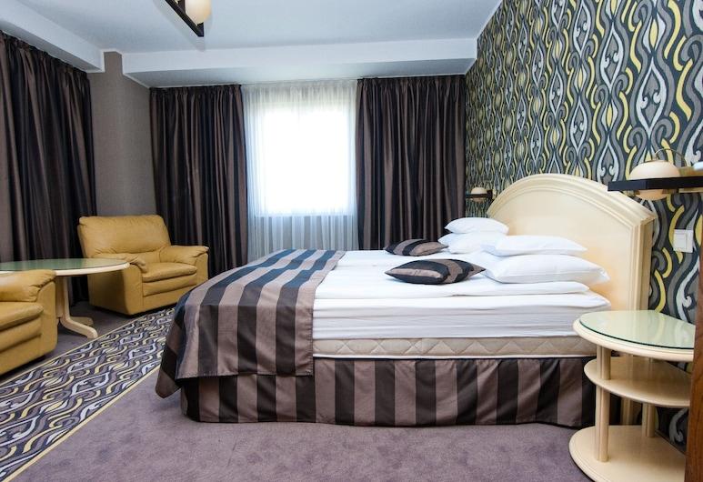 Hotel Onix, Cluj-Napoca, Svíta - 1 svefnherbergi, Herbergi