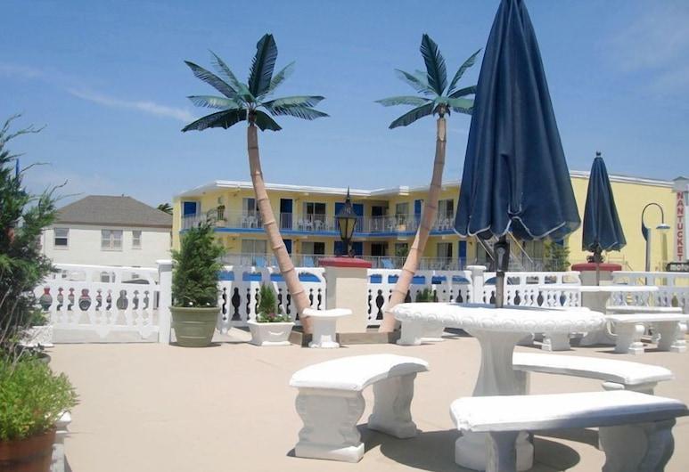 Casa del Sol Motel, Wildwood, Hotelový areál