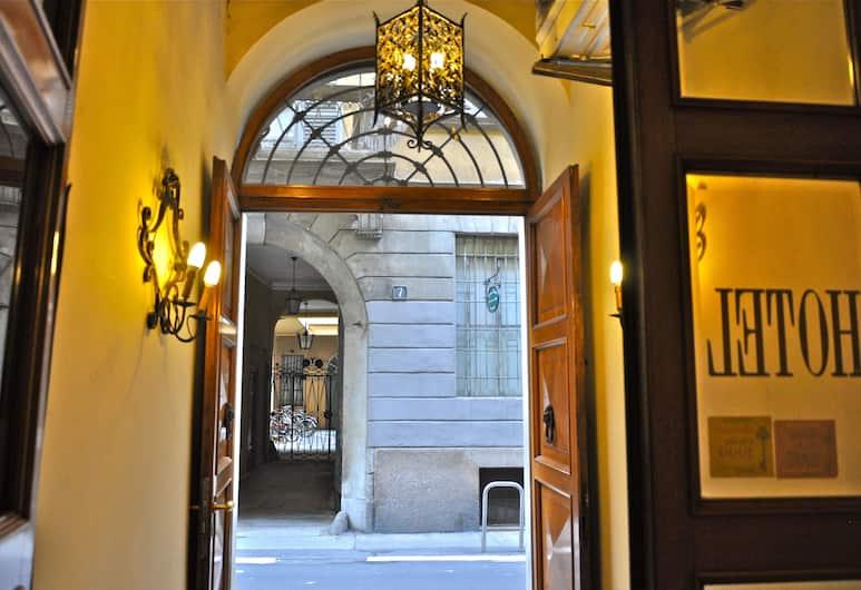 호텔 베키아 밀라노, 밀라노, 내부 입구