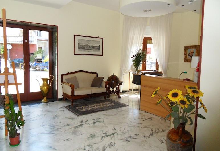 Hotel Astoria Pompei, Pompeia, Entrada (parte interna)