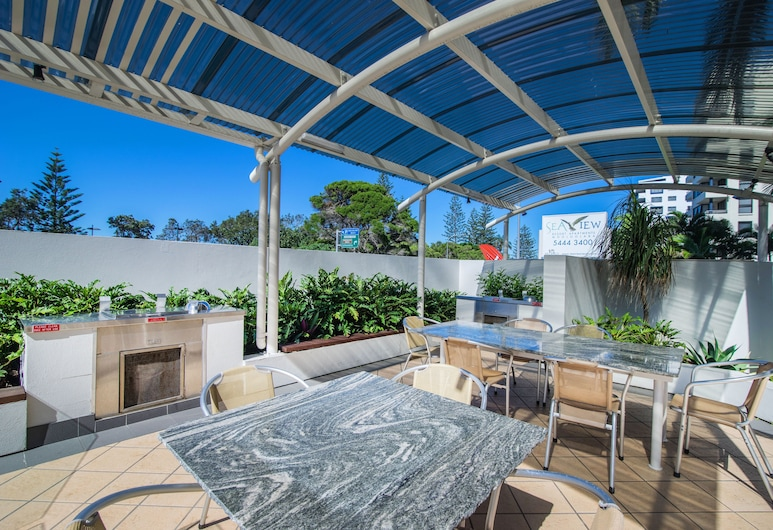Seaview Resort, Mooloolaba, Outdoor Dining