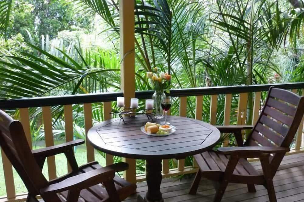 Коттедж, 1 спальня (rainforest) - Балкон