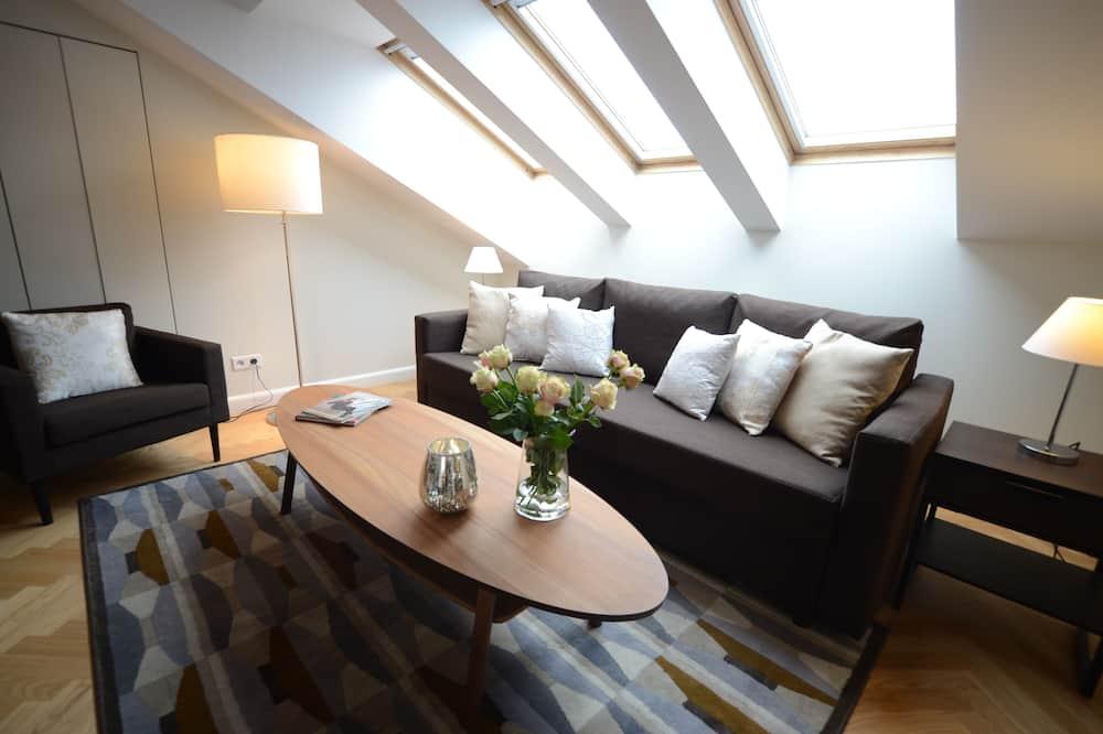 Deluxe-Loft - Wohnzimmer