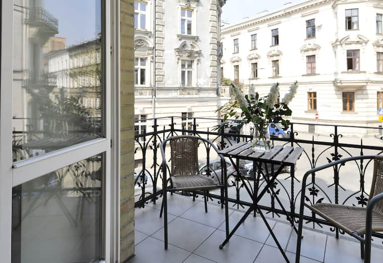 Crystal Suites Old Town, Krakow, Exclusive Apartment, Balcony