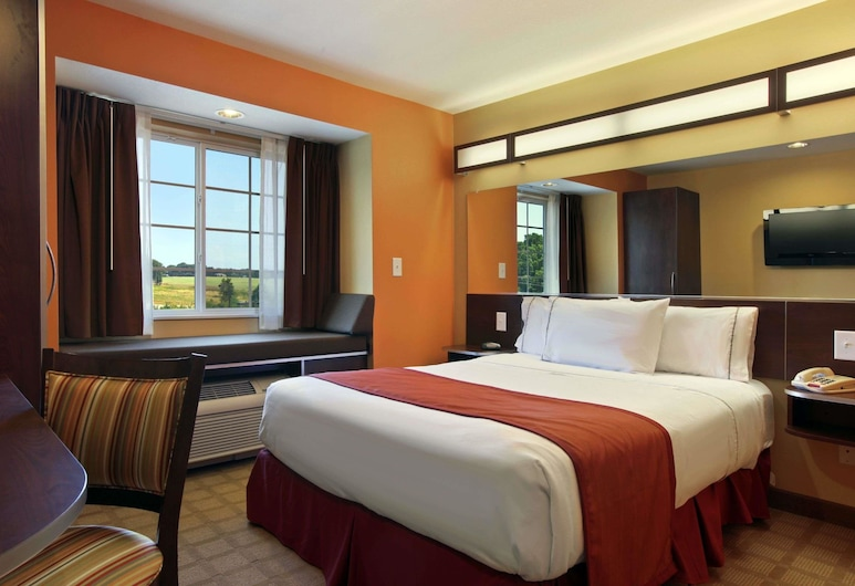 Microtel Inn & Suites by Wyndham Anderson/Clemson, Anderson, Room, 1 Queen Bed, Non Smoking, Guest Room