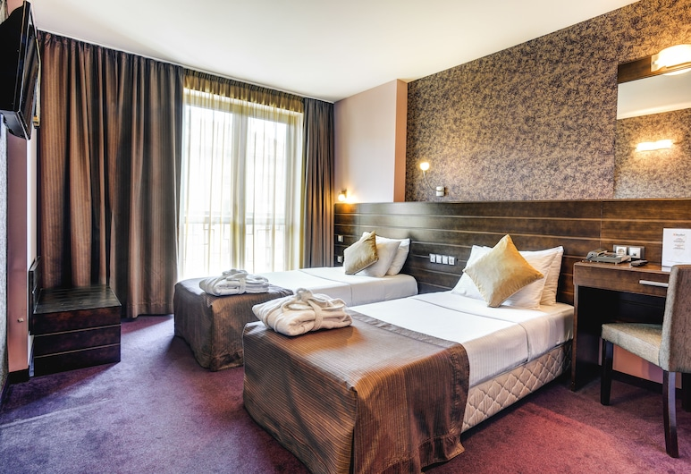 Hotel Budapest, Sofia, Standard Room, 2 Twin Beds (15% off in the restaurant), Guest Room View