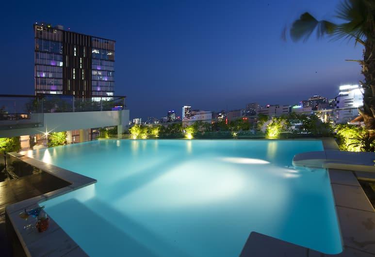 Alagon Central Hotel & Spa, Ho Chi Minh City, Terrace/Patio