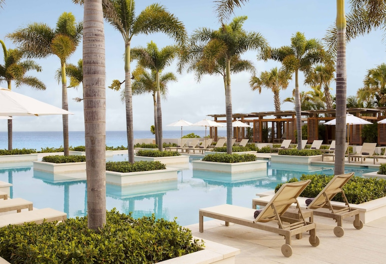 Four Seasons Resort and Residence Anguilla, West End Village, Außenpool