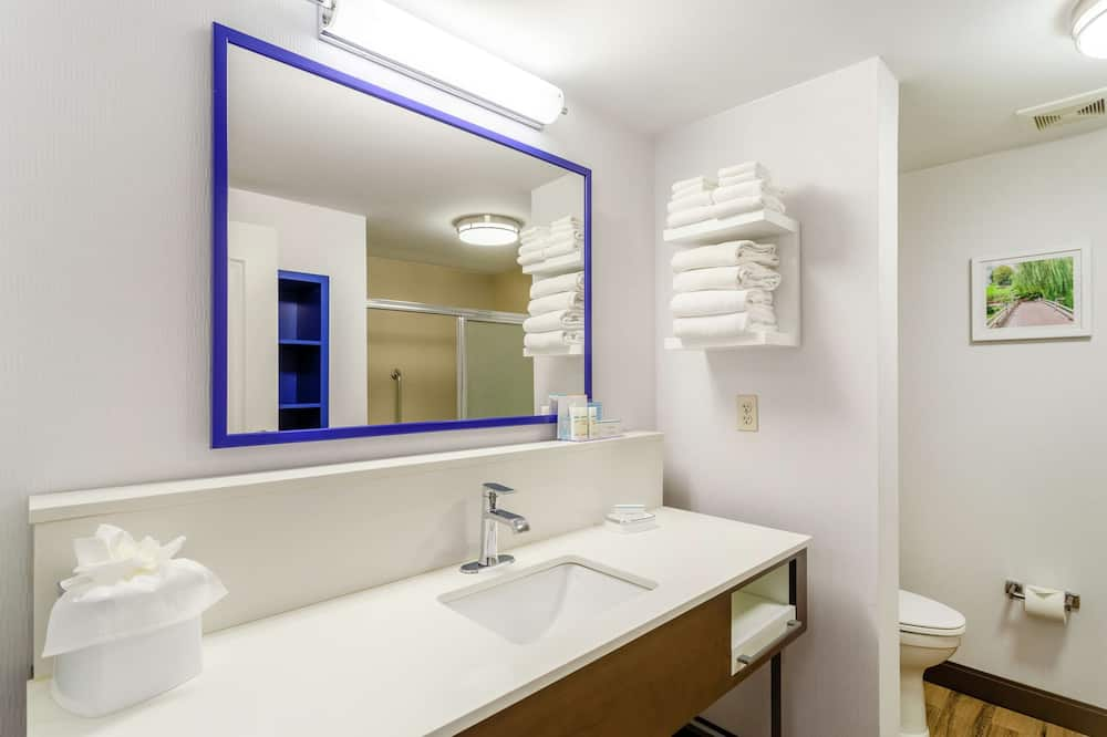 Luksusa numurs, 1 divguļamā karaļa gulta, vanna (Mobility & Hearing) - Vannasistaba