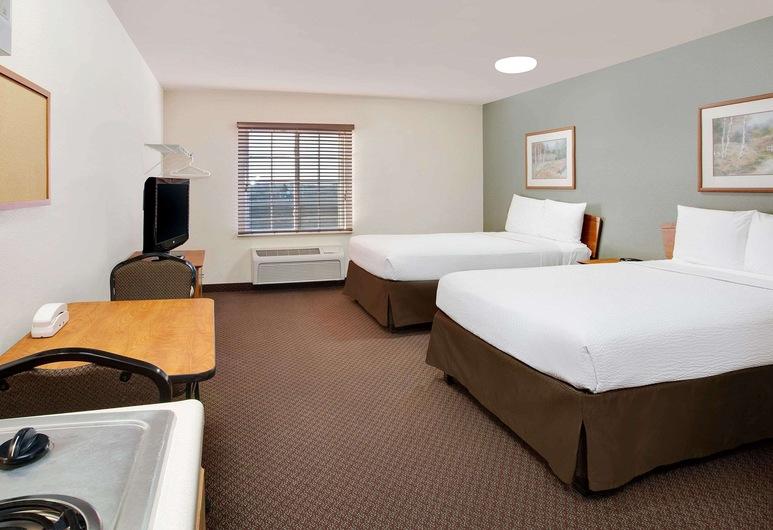 WoodSpring Suites Fort Wayne, Fort Wayne, Habitación estándar, 2 camas dobles, para no fumadores, Habitación