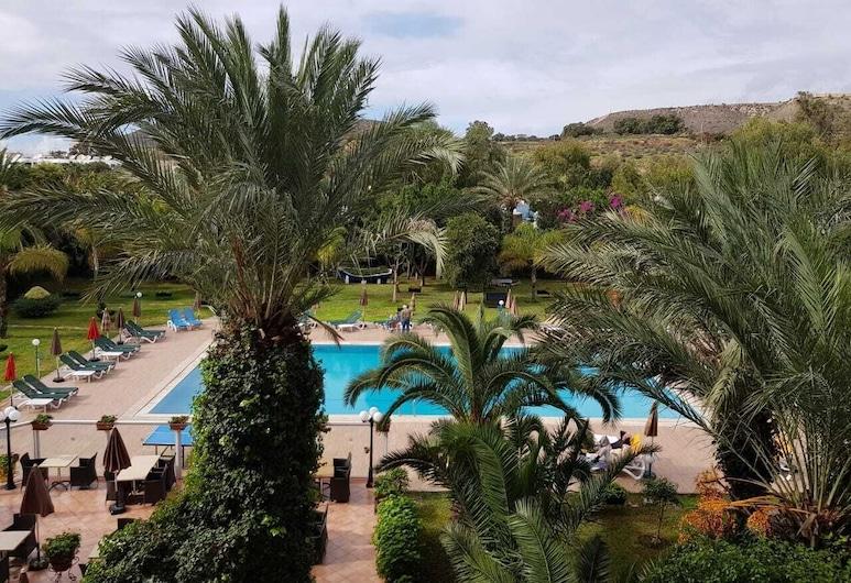 Tildi Hotel, Agadir, Dobbeltrom, utsikt mot basseng, Utsikt mot hage