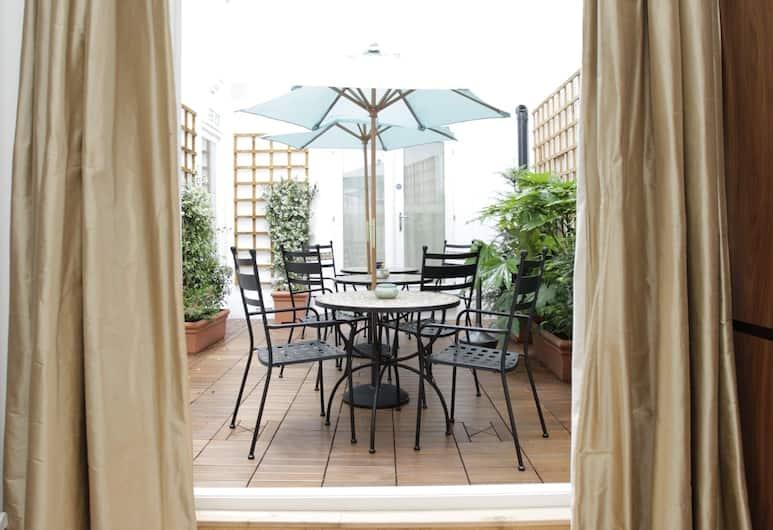 Presidential Apartments - Kensington, London, Executive-Studio, zum Innenhof hin, Terrasse/Patio