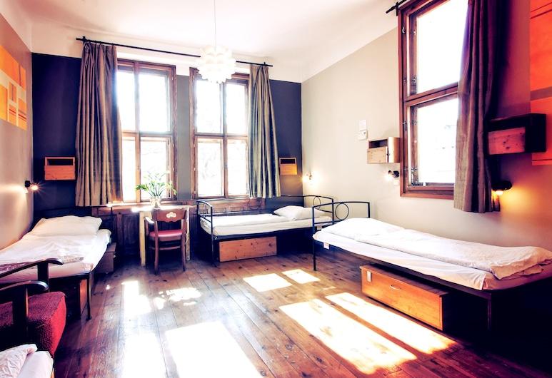 Sir Toby's Hostel, Praga, Bed in 6-Bed Mixed Dormitory, Quarto