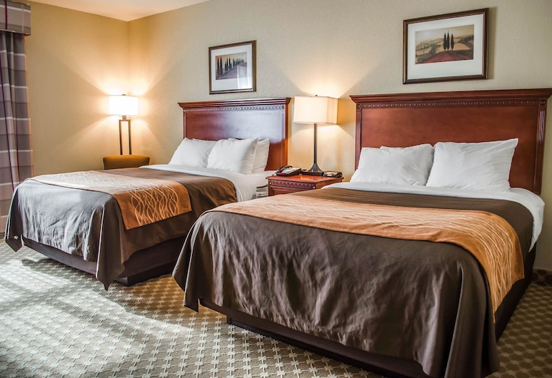 Comfort Inn & Suites Mobile near Eastern Shore Centre, Daphne, Standard Room, 2 Queen Beds, Non Smoking, Guest Room