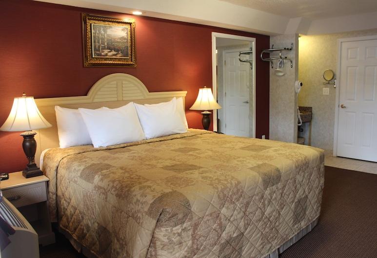 Country View Inn & Suites Atlantic City, Galloway, Standardzimmer, 1 Queen-Bett, Nichtraucher, Kühlschrank und Mikrowelle, Zimmer