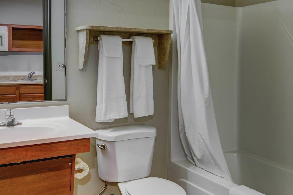 標準開放式客房, 1 張標準雙人床, 廚房 - 浴室