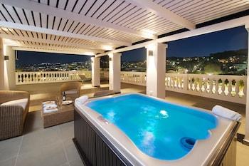 A(z) Aenos Hotel hotel fényképe itt: Kefalonia