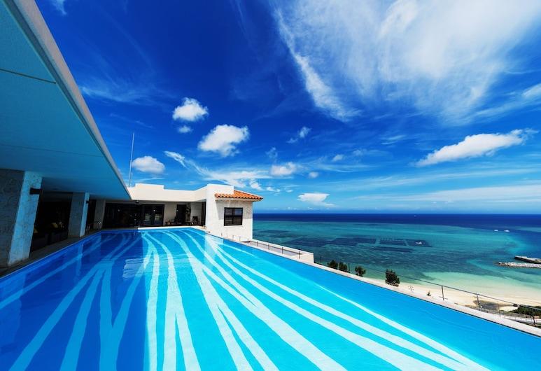卡夫度假富著公寓酒店, 恩納, 天台泳池