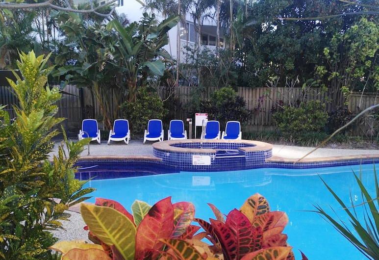 Surfers Beach Holiday Apartments, Surfers Paradise, Piscina