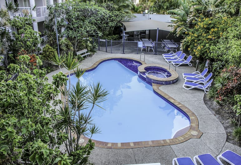 Surfers Beach Holiday Apartments, Surfers Paradise, Udendørsareal