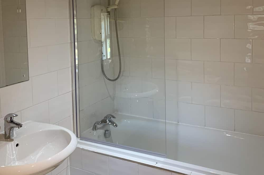 Doppelzimmer, mit Bad - Badezimmer