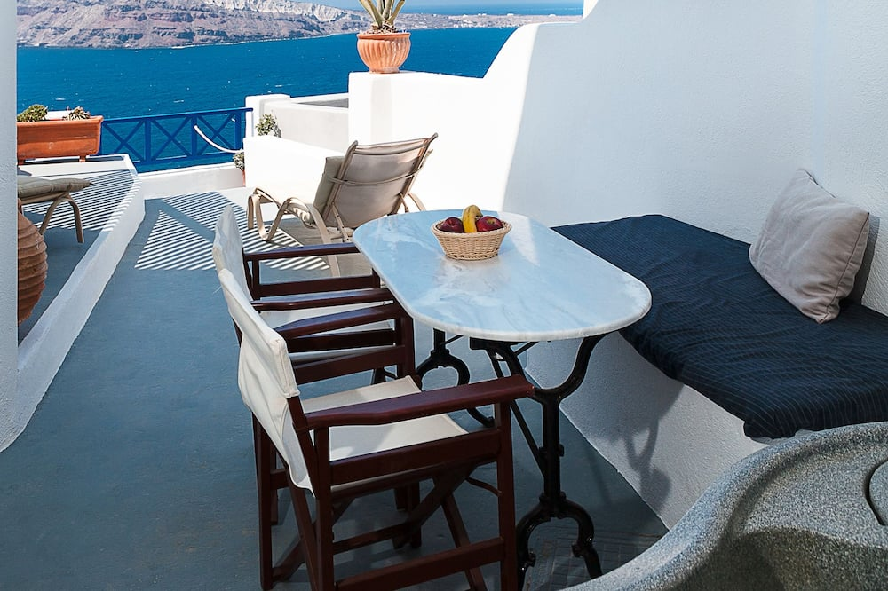 Suite (Cave) with Outdoor Jetted Tub, Sea View - Terraza o patio