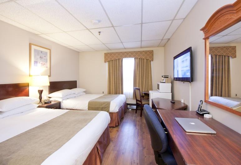 Provost Motor Inn, Provost, Deluxe Room, 2 Queen Beds, Guest Room