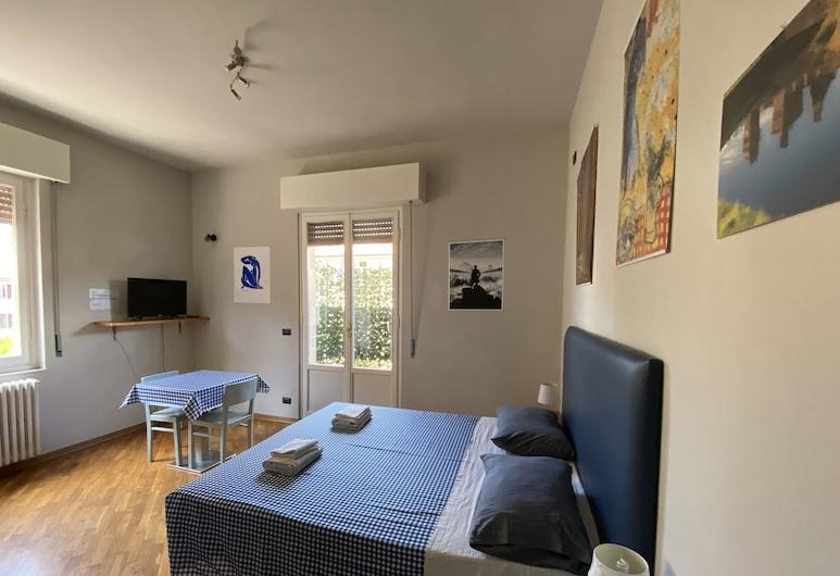 聖神飯店, 阿雷佐, 經典雙人或雙床房, 簡易廚房, 客廳