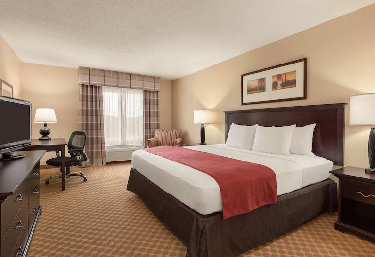 Country Inn & Suites by Radisson, Princeton, WV, פרינסטון, חדר, מיטת קינג, ללא עישון, חדר אורחים