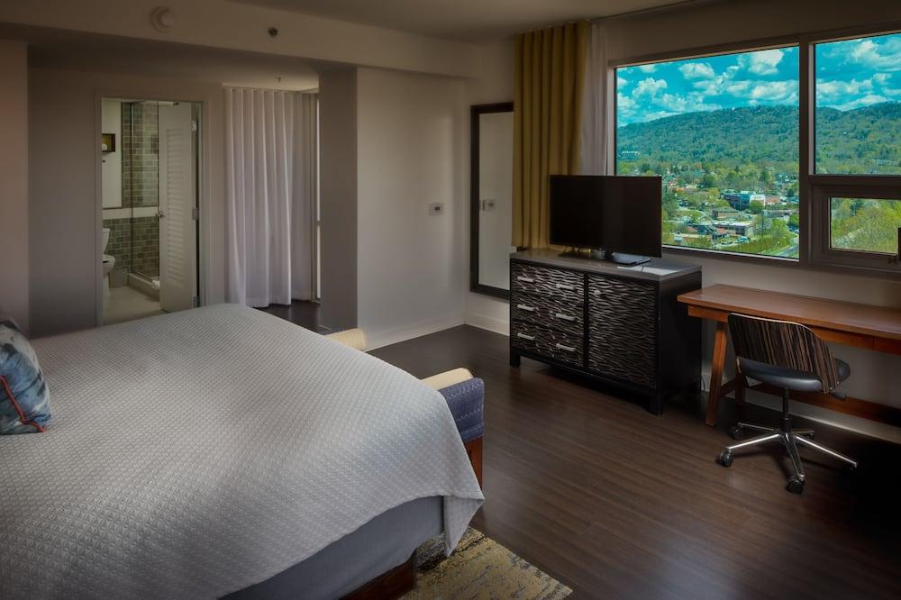 Zimmer, 1King-Bett, Ausblick - Bergblick