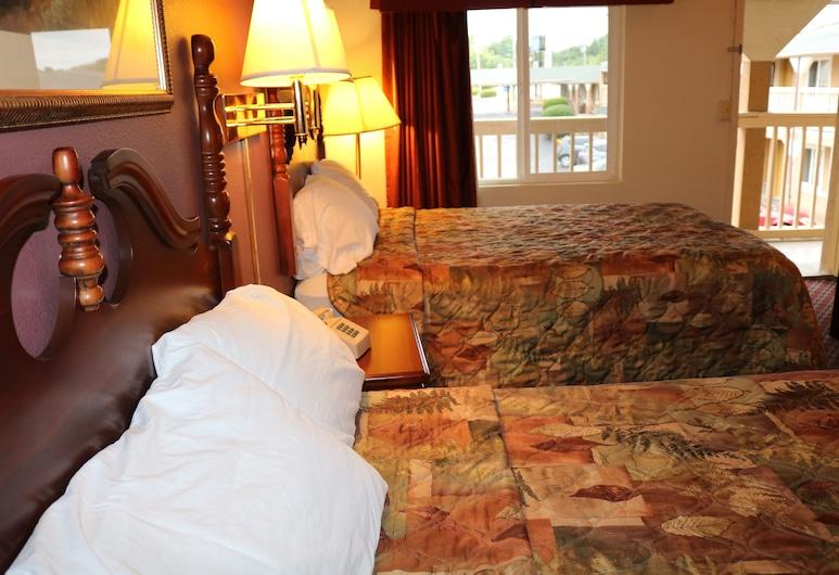Battlefield Inn Springfield, Springfield, Standard tuba, 2 laia voodit, suitsetamine keelatud, külmkapp ja mikrolaineahi, Tuba