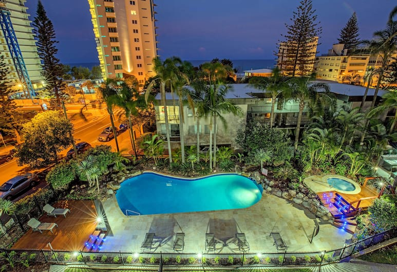Baronnet Apartments, Surfers Paradise, Udsigten fra overnatningsstedet
