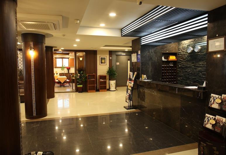 Hill house Hotel, Séoul, Hall