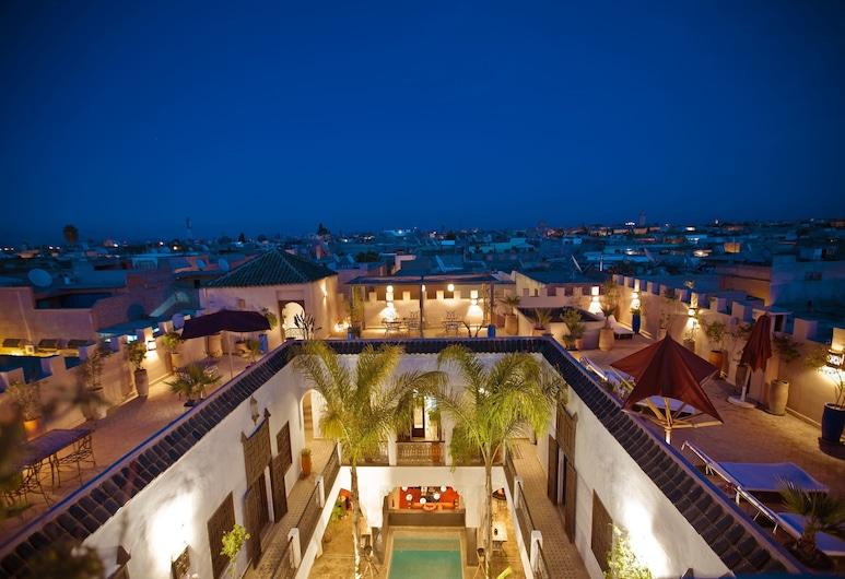 Riad Pachavana, Marrakech, Balkon