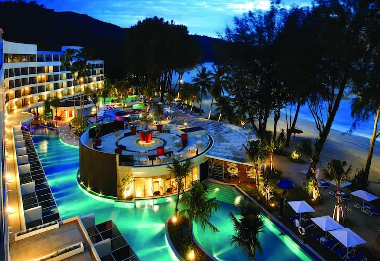 โรงแรมฮาร์ดร็อค ปีนัง, จอร์จทาวน์, ห้องดีลักซ์, วิวทะเล, ห้องพัก