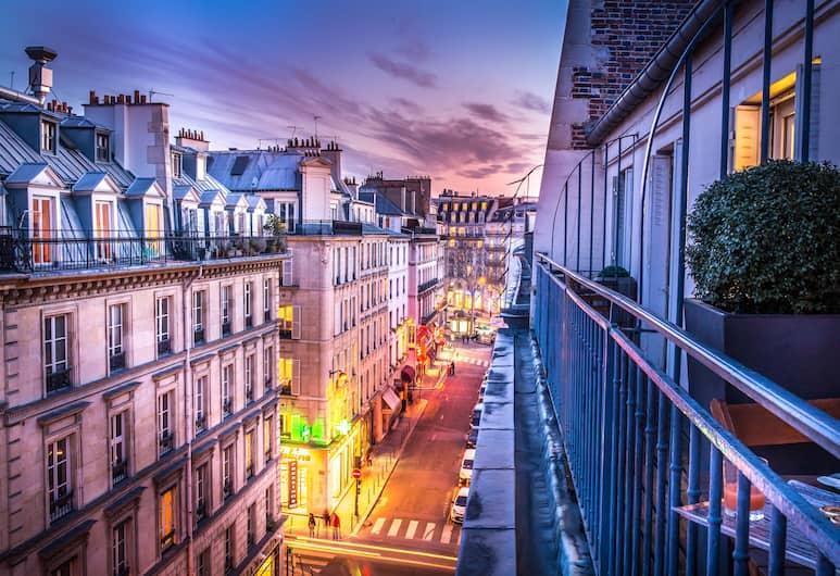 Hotel Opera Marigny, Paryż, Apartament Junior, Widok z pokoju