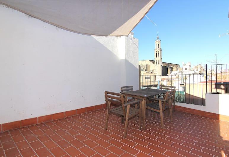 Picasso Apartments, Barcelona, Apartemen Standar, 1 kamar tidur (5th Floor -solarium de uso excl), Teras/Patio