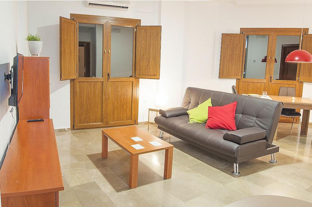 Departamento, 1 habitación, balcón - Sala de estar