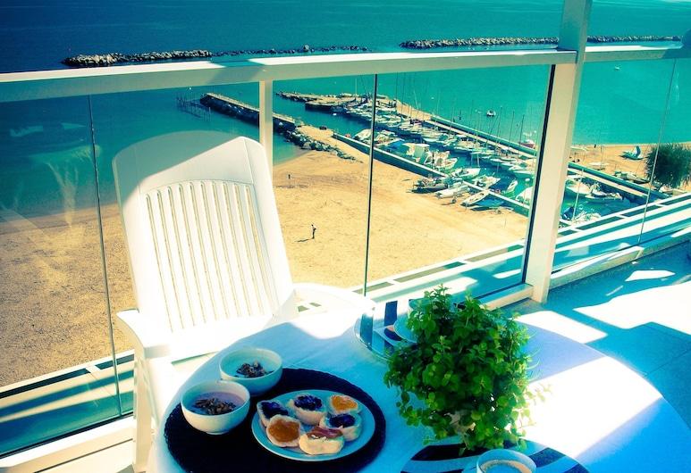 Residence Terminus, Rimini, Süit, 3 Yatak Odası, Balkon