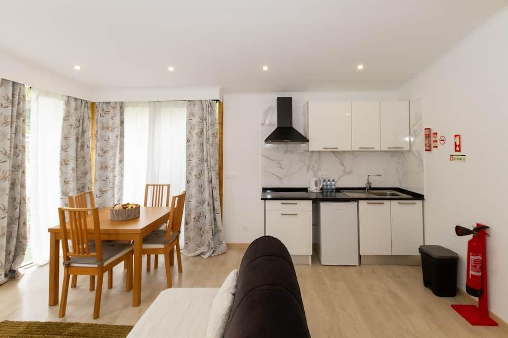 Apartemen, 1 kamar tidur, dapur kecil (4 Guests) - Tempat Makan Di Kamar