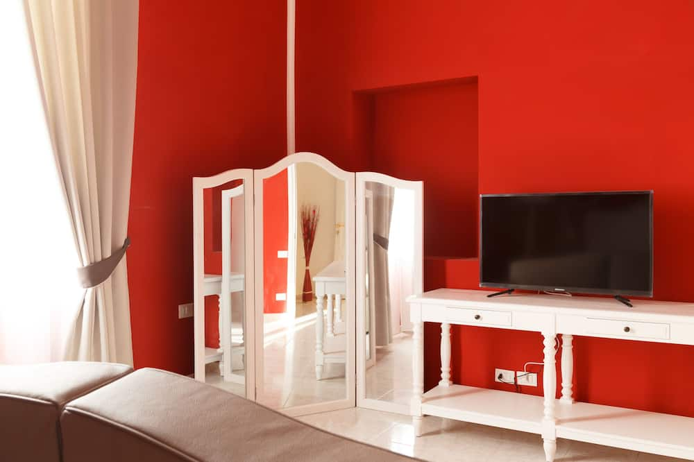 Dört Kişilik Oda - Oturma Alanı