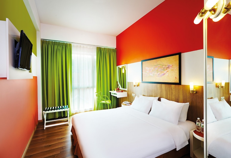 S'kan Styles Hotel, Sandakan, Standard tuba, 1 ülilai voodi, vaade linnale, Tuba