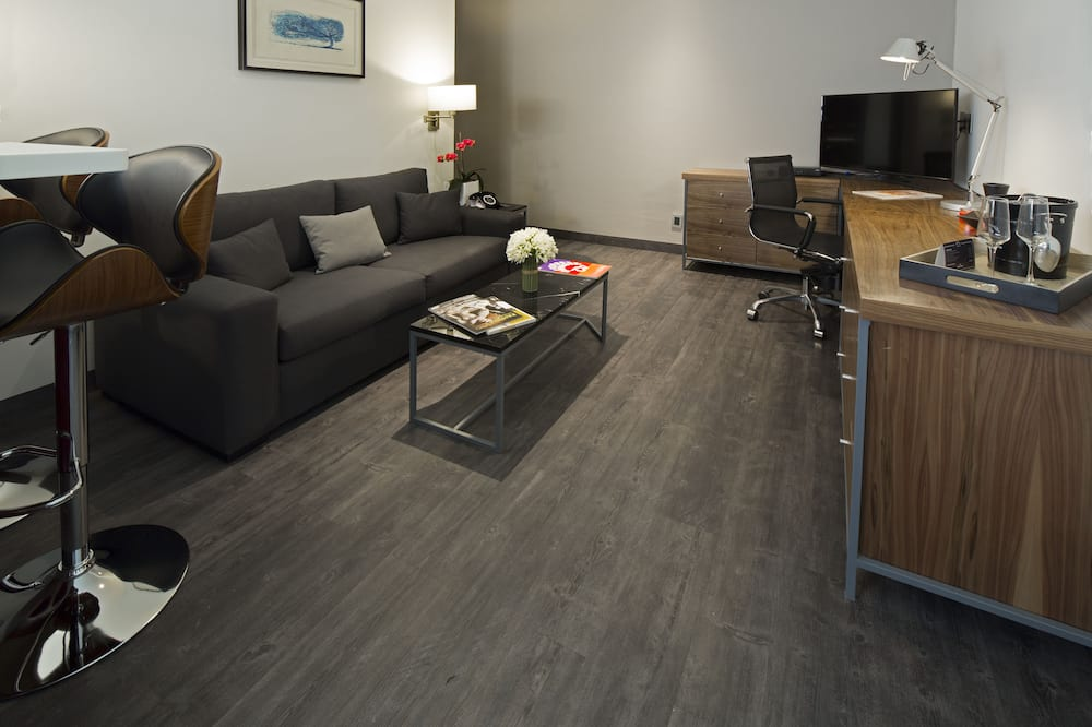 Departamento ejecutivo, 1 cama doble - Sala de estar