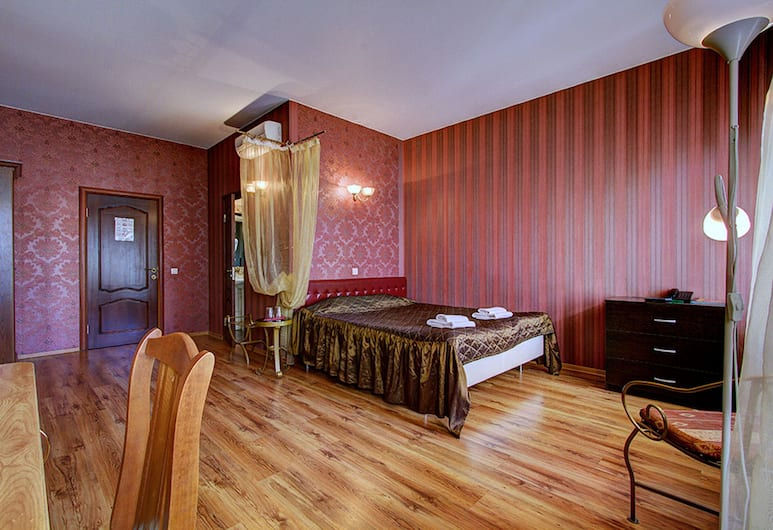 Elegy Hotel, San Pietroburgo, Camera Comfort, 1 letto queen, Camera
